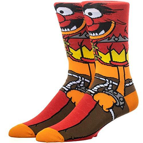 The Muppets Animal 360-Degree Graphic Print Crew Socks