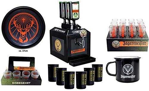 Jägermeister TAP Maschine + Fan Bar Set - XXL Set - bar reklame Party