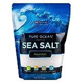 SaltWorks Pure Ocean Coarse Grain, Sea Salt, 80 Ounce