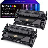 E-Z Ink (TM) Compatible Toner Cartridge Replacement for HP 26A CF226A 26X CF226X to use with Laserjet Pro M402n M402dn M402dw Laserjet Pro MFP M426fdw M426fdn M426dw (Black, 2 Pack)
