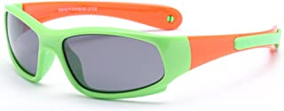 VEVESMUNDO - Gafas de sol polarizadas para niños y niñas, protección UV 400, flexibles, para 1-12 años, con diadema desmontable