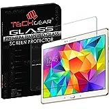 TECHGEAR Vidrio Compatible con Galaxy Tab S 10.5' (SM-T800, SM-T805) - Auténtica Protector de Pantalla Vidro Templado para Samsung Galaxy Tab S 10.5 Pulgada
