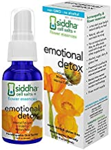 Siddha Remedies Emotional Detox Homeopathic Oral Spray for Melancholy, Irritability & Mental Fatigue | 100% Natural Homeop...