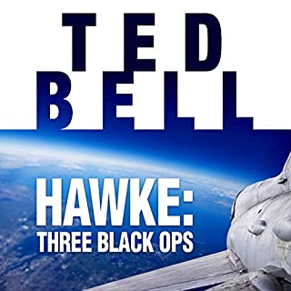 Hawke: Three Black Ops audiobook cover art