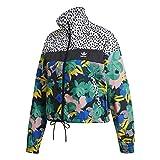 adidas Windbreaker Chaqueta, Multicolor, XXS para Mujer