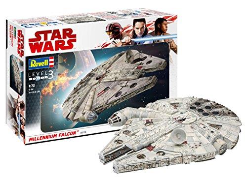Revell- Star Wars Millennium Falcon Han Solo Kit di Montaggio, Multicolore, 1:72 Scale, 06718