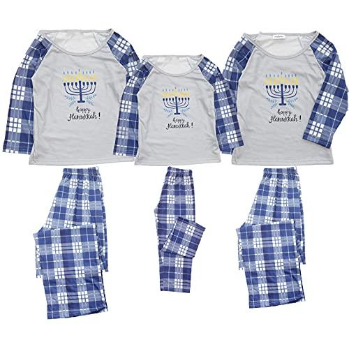 Supmatchy Hanukkah Pajamas Matching Family Pjs