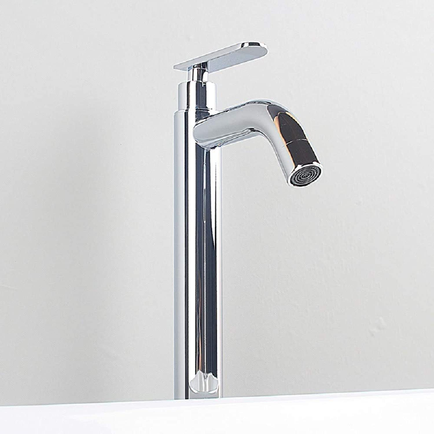Bathroom Taps? Washbasin Faucets Single Cold Water Basin Faucets Plus High Floor Pots Artistic Basins Faucets Bathroom Sink Tap Basin Sink Mixer Tap