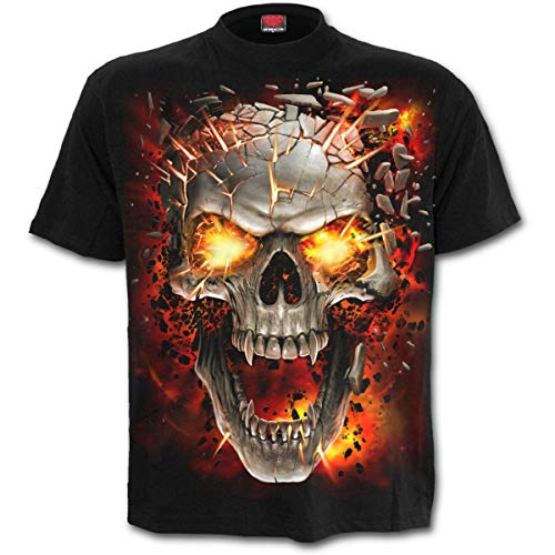 Spiral Direct Sudadera con Capucha Five Finger Death Punch Game Over - Negro