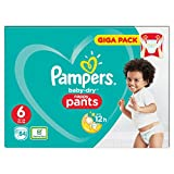 Pampers Baby-Dry Pants Taille 6 Couches avec canaux d'aération