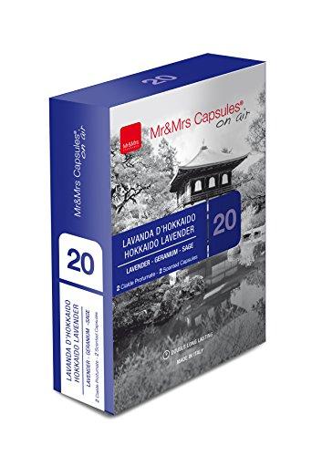 Mr & Mrs Fragrance JSCIALD020 Pack de 2 Capsules de Fragrance Lavande d'Hokkaido