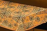 Amscan Internacional 2.7 x 1.4 m Arañas Claro Web plástico Mantel