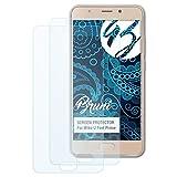 Bruni Schutzfolie kompatibel mit Wiko U Feel Prime Folie, glasklare Bildschirmschutzfolie (2X)