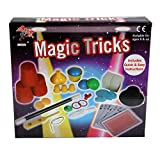 Kids Magic Tricks Show Set, Amazing Magic Tricks For Kids, Magic Made Easy Range, Includes Magic Wand, Magicians Hat, Card Tricks + Much More, Suitable For Age 6+ (Beginners Magic Trick Kit)
