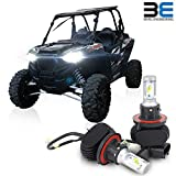 Bevel Engineering Premium LED Upgrade for Polaris - Ranger - RZR | General - H13 Head Light Bulb Kit 2-Pack - Low and High Beam Lamp Set |