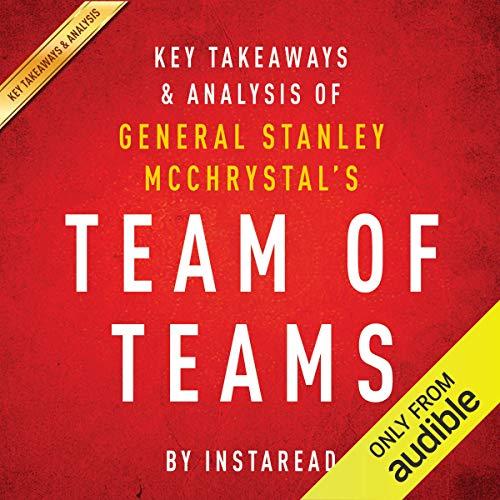 Team of Teams by General Stanley McChrystal audiobook cover art