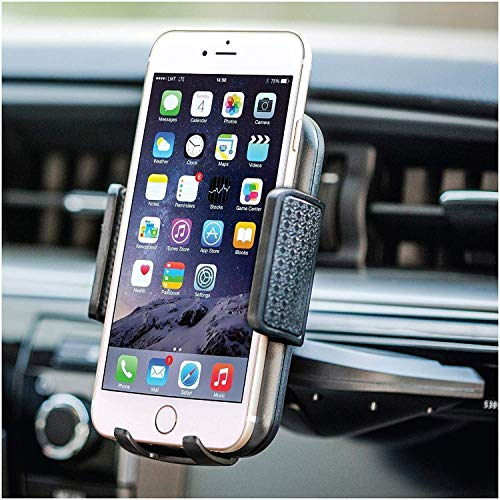 BESTRIX Cell Phone Holder for Car , CD Slot Car Phone Holder, Hands...