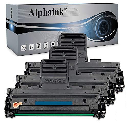 3 Toner Alphaink compatibili Samsung MLT-D1082S con le stampanti Samsung ML-1640 ML-1641 ML-1642 ML-1645 ML-2240 ML-2241 - Nero