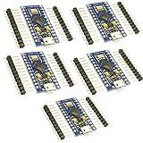 HiLetgo 5個セット Atmega32u4 pro micro nano5V 16M mini Leonardo マイクロ開発ボード Arduinoに対応