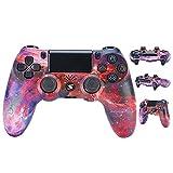 Jnsio Mando para PS4 Inalambricos, Mando para PS4 Gamepad Doble Vibración Seis Ejes Mando Game Compatible con Playstation 4/PS4 Slim/PS4 Pro