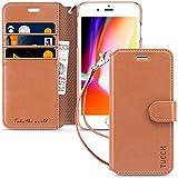 TUCCH Funda para iPhone 6/6S, Funda Libro iPhone 6 de Cuero con Protector de Pantalla, Funda iPhone 6s con Tapa [Ranuras para Tarjetas] [Soporte...