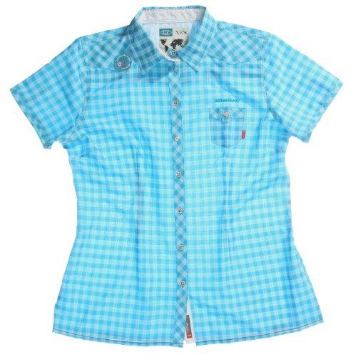 Exxtasy Women's Shirt M Blau - Turquise