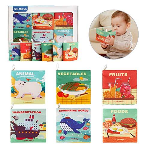 Ballery Libros Blandos para Bebé, no...