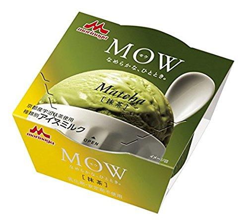 森永乳業 MOW 宇治抹茶 140ml×18個 【冷凍】(3ケース)