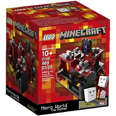 Lego Micromob Ghast 21106 Minecraft Minifigure