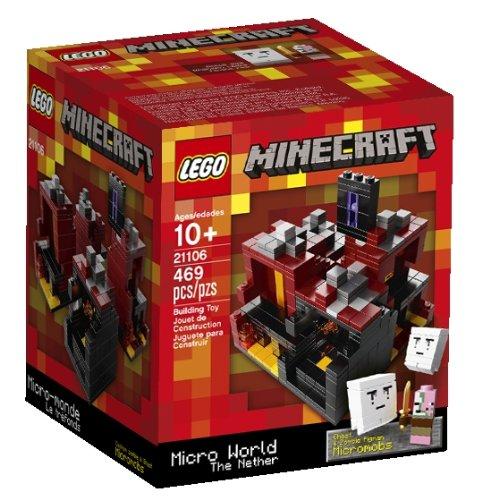 Lego – Minecraft – 21106 – Micro Monde – Le Nether