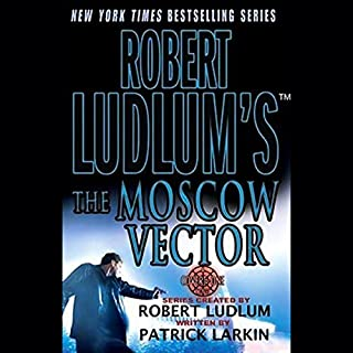 Robert Ludlum's The Moscow Vector audiobook cover art