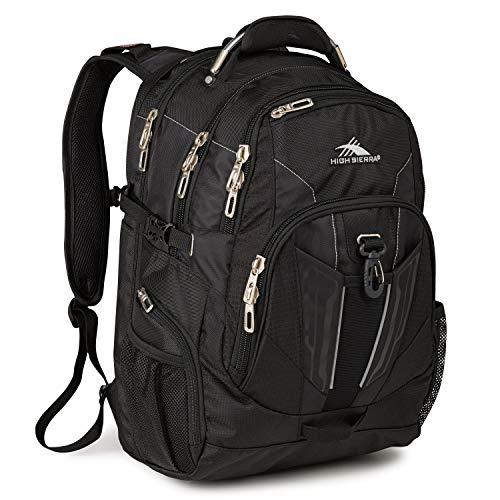 High Sierra XBT-TSA Laptop Backpack, Black, One Size
