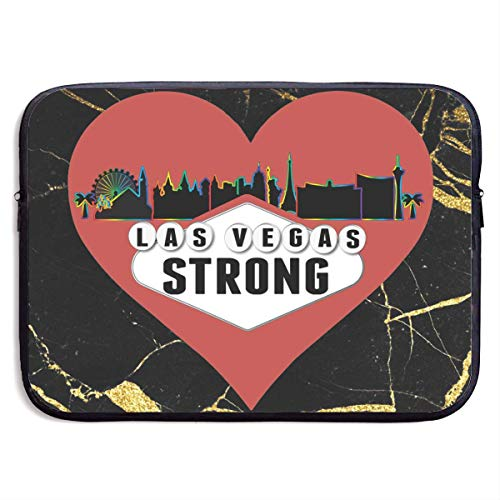 Vegas Strong Computer Bag,Neoprene Notebook Bags,Zipper Laptop Bag,Tablet Briefcase,Briefcase Sleeve Case Cover 13In