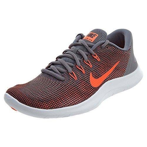 Nike Women's Flex 2018 Rn Gunsmoke/Total Crimson - Black Ankle-High Running Shoe 12M