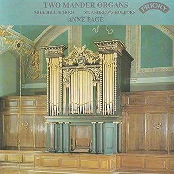 Two Mander Organs