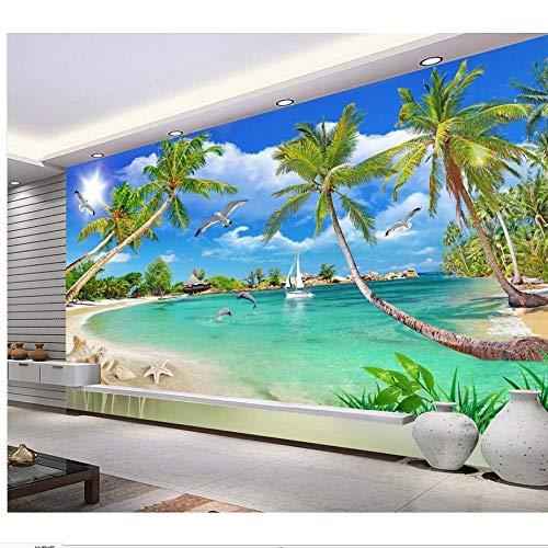 Zyzdsd Wall Decoration Roman Spalte Raum Zur Erweiterung Der Piano Tv Hintergrundbild 3D Wandbild Tapete-200X140CM