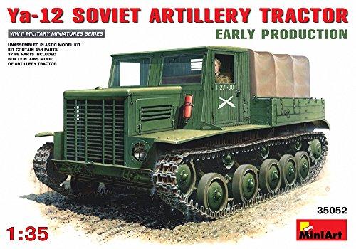 MiniArt Echelle 1 : 35 cm Tracteur d'artillerie soviétique ya-12 Early Produit Kit de modèle en Plastique