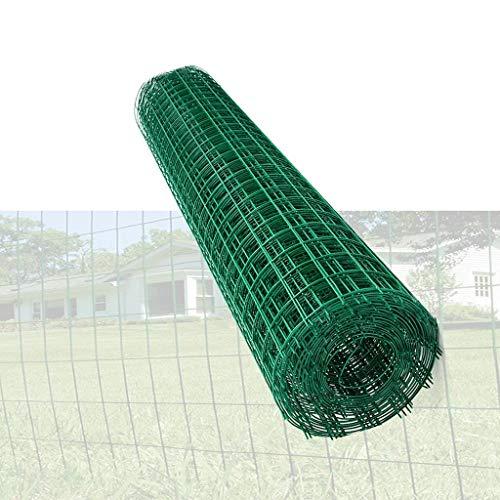 2.3mm clôture en Treillis métallique Polyvalent 1,5M x30M matière première Vert Plus Dur en Plastique à Faible Fil d'acier au Carbone clôture Jardin WKY