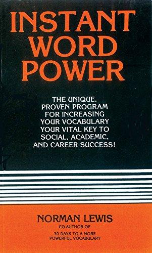 Instant Word Power [Paperback] [Jan 01, 2011] Norman Lewis