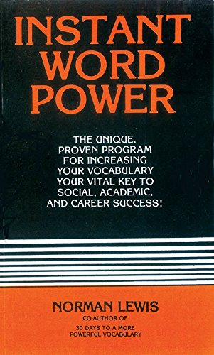 Instant Word Power [Paperback] [Jan 01, 2011] Norman Lewis
