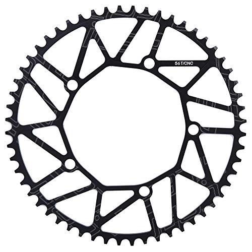 Plato de bicicleta - dientes positivos y negativos al aire libre 130BCD manivela solo disco 130BCD 56T