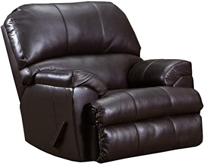 ACME Phygia Recliner (Motion) - - Espresso Top Grain Leather Match
