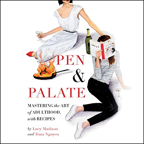 Pen & Palate audiobook cover art
