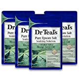 Best Epsom Salts - Dr Teal's Pure Epsom Salt, Cannabis Sativa Hemp Review