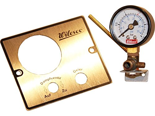 01532 - Wilesco ET - Manometer M 5 Gewinde D=30 mm
