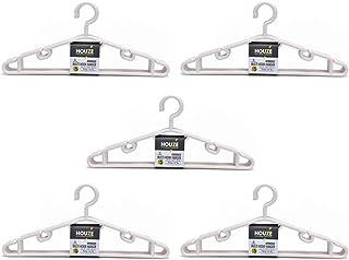HOUZE LN-5202-BOTWHT-5 Multi Hook Hanger, 25 Count