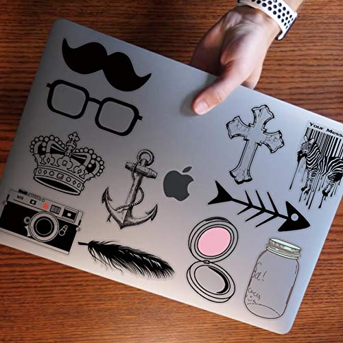 YMSD Transparent Camera Laptop Sticker Personality Flat Skateboard Refrigerator Guitar Decoration Waterproof Pvc Sticker