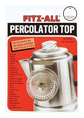 Fitz-all Universal Replacement Top Fits Most Percolators Harold Import New #135