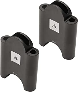 Profile Designs Aerobar Bracket Riser Kit Black