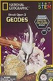 Bandai– NGGEO2 National Geographic– Entdeckerset– 2 Geoden zum Aufbrechen– Bildungs- und Wissenschaftsspiel– STEM– JM00601